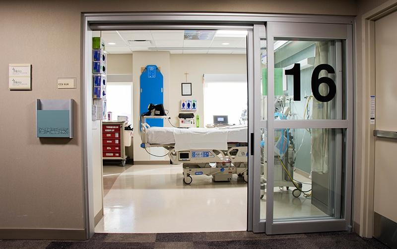 Critical Care Unit, MercyOne North Iowa | Bergland + Cram